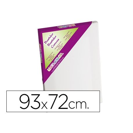 BASTIDOR LIDERCOLOR 30F LIENZOGRAPADO LATERAL ALGODON 100% MARCO PAWLONIA 1,8X3,8 CM BORDES MADERA 9