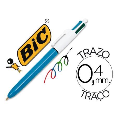BOLIGRAFO BIC CUATRO COLORES