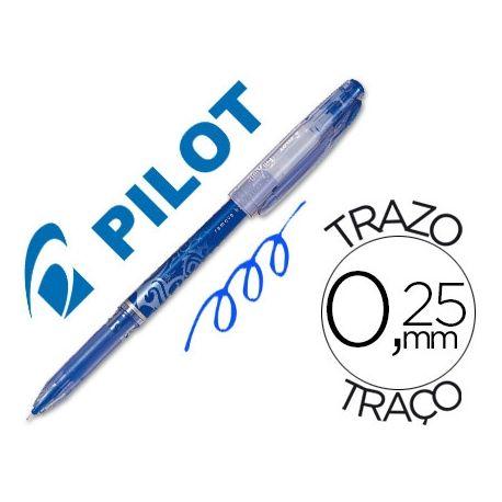 BOLIGRAFO PILOT FRIXION PUNTA DE AGUJA COLOR AZUL