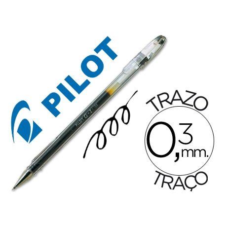 BOLIGRAFO PILOT G-1 NEGRO TINTA GEL