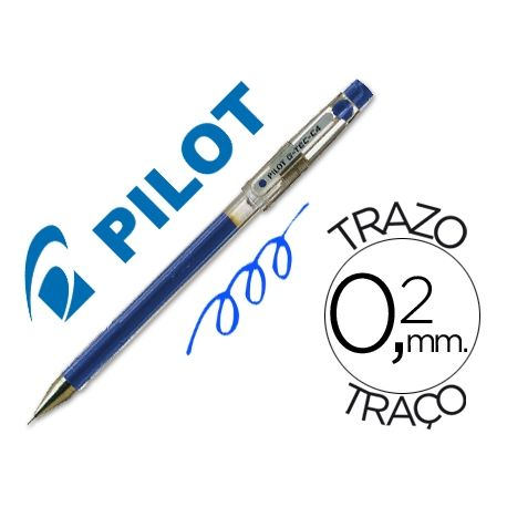 BOLIGRAFO PILOT PUNTA AGUJA G-TEC-C4 AZUL