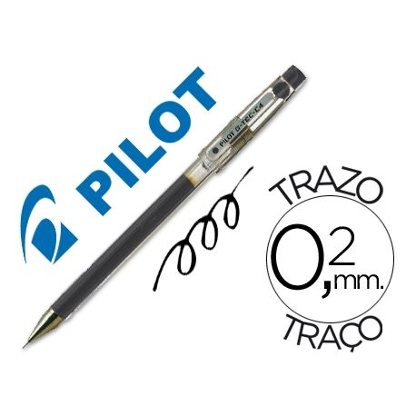 BOLIGRAFO PILOT PUNTA AGUJA G-TEC-C4 NEGRO