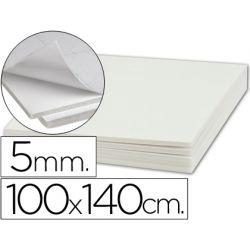 CARTON PLUMA LIDERPAPEL ADHESIVO 1 CARA 100X140 CM ESPESOR 5 MM