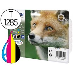 INK-JET EPSON S22 SX125/130/420W/425W OFFICE BX305 T1285 MULTIPACK 4 COLORES