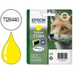 INK-JET EPSON STYLUS T1284 AMARILLO S22 / SX125 / SX420W / 425W / OFFICE BX305F -CAPACIDAD