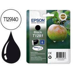 INK-JET EPSON STYLUS T1291 NEGRO SX420W / 425W / OFFICE BX305F / BX320F -ALTA CAPACIDAD-