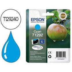 INK-JET EPSON STYLUS T1292 CIAN SX420W / 425W / OFFICE BX305F / BX320F -ALTA CAPACIDAD-