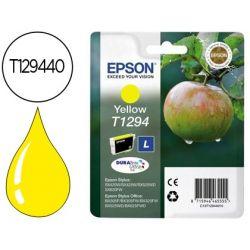 INK-JET EPSON STYLUS T1294 AMARILLO SX420W / 425W / OFFICE BX305F / BX320F -ALTA CAPACIDAD-