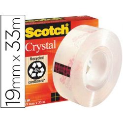 CINTA ADHESIVA SCOTCH SUPERTRANSPARENTE 33X19 MM 600/1933CI