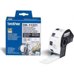 ETIQUETA BROTHER DK-11221 23X23 MM 1000 ETQ PARA IMPRESORAS QL