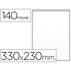 FUNDA PORTADOCUMENTO Q-CONNECTFOLIO 140 MICRAS PVC TRANSPARENTE 230X330MM