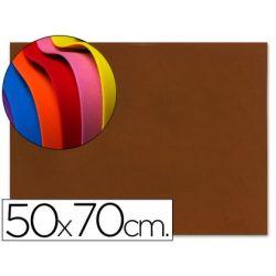 GOMA EVA LIDERPAPEL 50X70CM 60G/M2 ESPESOR 1.5MM MARRON