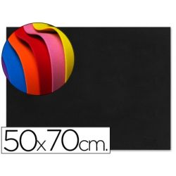 GOMA EVA LIDERPAPEL 50X70CM 60G/M2 ESPESOR 1.5MM NEGRO