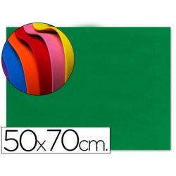 GOMA EVA LIDERPAPEL 50X70CM 60G/M2 ESPESOR 1.5MM VERDE