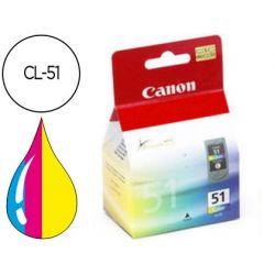 INK-JET CANON IP2200/6210D/ 6220D MP150/170/450 TRICOLOR ALTO RENDIMIENTO CL-51