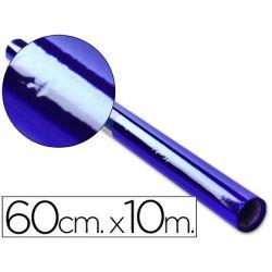 PAPEL CELOFAN ROLLO AZUL -0,60 X 10 MT