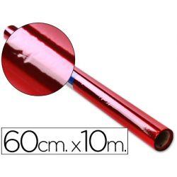 PAPEL CELOFAN ROLLO ROJO -0,60 X 10 MT