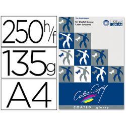 PAPEL FOTOCOPIADORA COLOR COPY GLOSSY DIN A4 135 GRAMOS PAQUETE 250 HOJAS