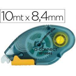 PEGAMENTO Q-CONNECT ROLLER COMPACT NO PERMANENTE -6,5 MM DE ANCHO X 10 MT -UNIDAD