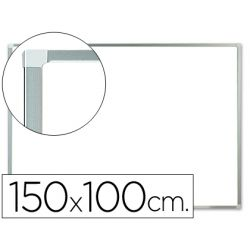 PIZARRA BLANCA Q-CONNECT LACADA MAGNETICA MARCO DE ALUMINIO 150X100 CM