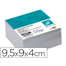 TACO LIDERPAPEL SIN ENCOLAR 95 X 90 X 40MM BLANCO