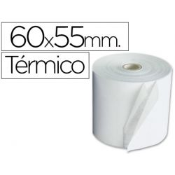 ROLLO SUMADORA TERMICO 60 MM ANCHO X 55 MM DIAMETRO
