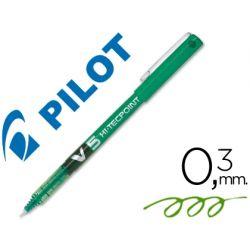 ROTULADOR PILOT PUNTA AGUJA V-5 VERDE 0.5 MM