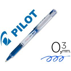 ROTULADOR PILOT ROLLER V-BALL GRIP AZUL 05 MM