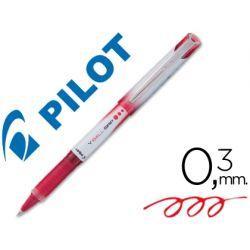 ROTULADOR PILOT ROLLER V-BALL GRIP ROJO 05 MM