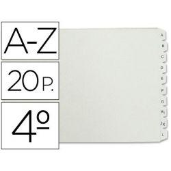 SEPARADOR ALFABETICO MULTIFIN PLASTICO 3003