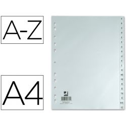 SEPARADOR ALFABETICO Q-CONNECTPLASTICO A-Z DIN A4 -MULTITALADRO