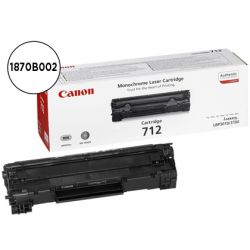 TONER CANON CRG712 NEGRO LASER LBP3010/3100