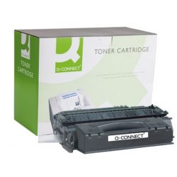 TONER Q-CONNECT COMPATIBLE HP 1320/3390/3392 NEGRO Q5949X -6.000PAG-