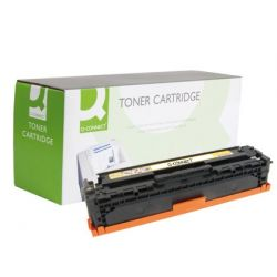 TONER Q-CONNECT COMPATIBLE HP CB542A COLOR LASER JET 1215/1515/1518 -1.400PAG-