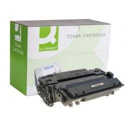 TONER Q-CONNECT COMPATIBLE HP CE255X LASERJET P3015 -12.500PAG-