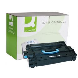 TONER Q-CONNECT COMPATIBLE HP LASERJET 9000 C8543X BLACK -30.000 PAG-