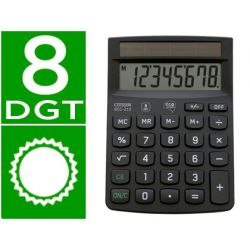 CALCULADORA CITIZEN SOBREMESA ECO ECC-210 8 DIGITOS