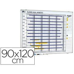 PLANNING MAGNETICO 1000/50 ANUAL DIA A DIA SUPERFICIE BLANCA ROTULABLE TAMA?O 90X120 CM