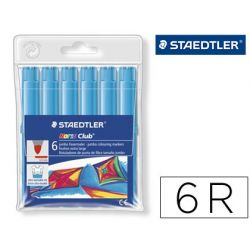 ROTULADOR STAEDTLER COLOR JUMBO TRAZO 3 MM -CAJAS UNICOLOR TURQUESA
