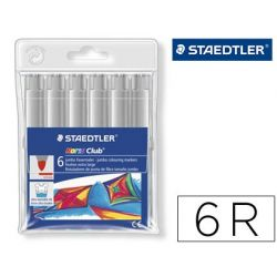 ROTULADOR STAEDTLER COLOR JUMBO TRAZO 3 MM -CAJAS UNICOLOR GRIS