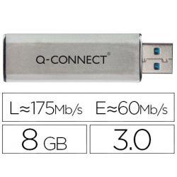 MEMORIA USB Q-CONNECT FLASH 8 GB 3.0
