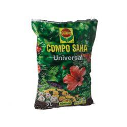 TIERRA COMPO PARA PLANTAS DE I NTERIOR Y EXTERIOR 5 LITROS