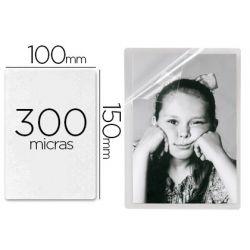BOLSA DE PLASTIFICAR 3L OFFICE MANUAL EN FRIO 10X15 CM 300 MICRAS CON IMAN Y BASE SOBREMESA PACK DE