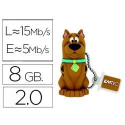 MEMORIA USB EMTEC FLASH 8 GB 2.0 SCOOBY DOO