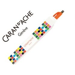 ESTUCHE CARAN D'ACHE VACIO CARTON PARA GAMA 888 INFINITE IMPRESO CUADROS COLORES
