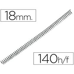 ESPIRAL METALICO Q-CONNECT 56 4:1 18MM 1,2MM