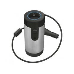 ADAPTADOR DE CORRIENTE TRUST PARA COCHE 230V USB CON SALIDA 2.1 A / 10W