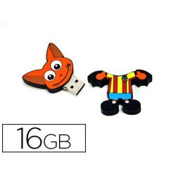 MEMORIA USB 16GB MASCOTA VALENCIA CF