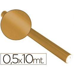 PAPEL METALIZADO COBRE ROLLO CONTINUO DE 0,5 X 10 MT