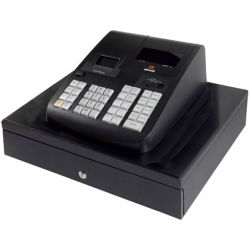 REGISTRADORA OLIVETTI ECR 7790 LD DISPLAY VFD CAJON GRANDE COLOR NEGRO